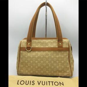 Louis Vuitton Mini Lin Monogram Josephine PM Bag
